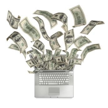 online web event, making money