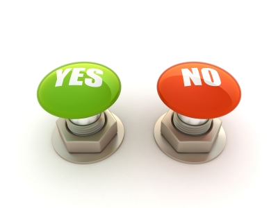 Webinar Yes and No