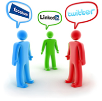 promote business social media