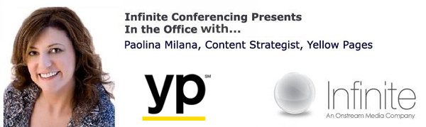 infinite conferencing, content strategy, marketing